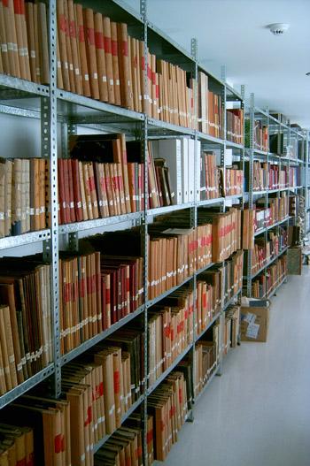 Organización en el archivo municipal