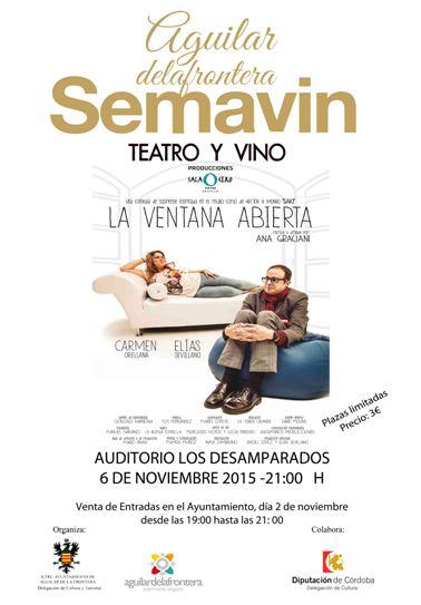 TEATRO Y VINO. SEMAVIN 2015