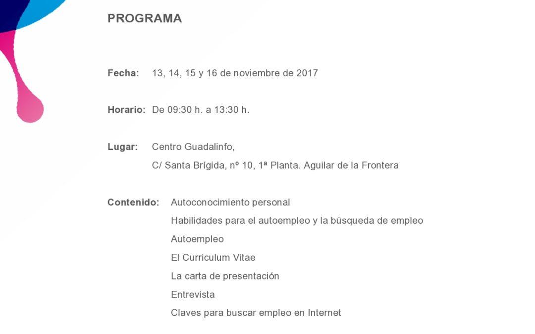 "CURSO GRATUITO DE ""TÉCNICAS DE BÚSQUEDA ACTIVA DE EMPLEO"" 1"