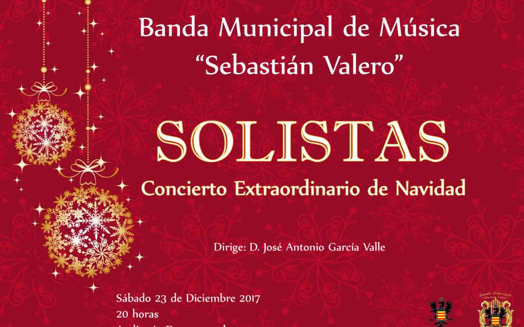 """CONCIERTO EXTRAORDINARIO DE NAVIDAD """"SOLISTAS"""" 1"""