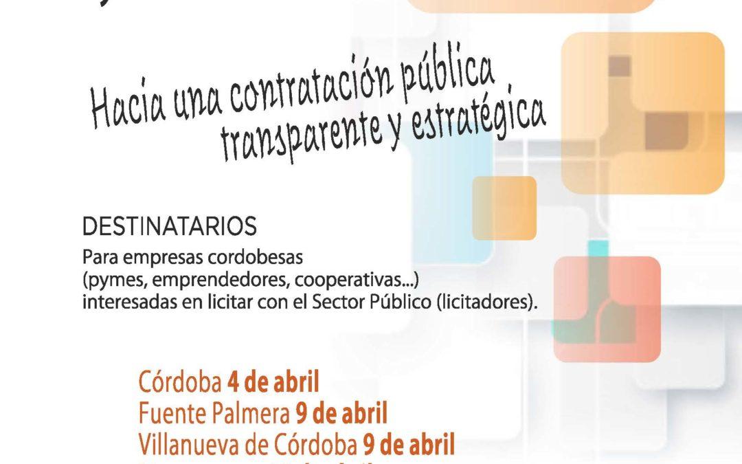 Jornadas Provinciales sobre Contratación Púbica para empresarios/as, trabajadores o emprendedores interesados/as en participar como licitadores en contratos del sector público. 1