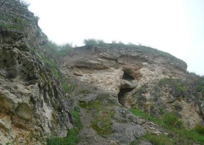 La estructura exterior del castillo. 1