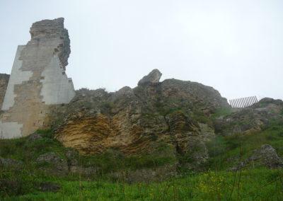 La estructura exterior del castillo. 2