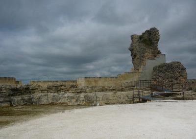 La estructura exterior del castillo. 3