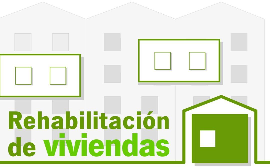 Abierta la convocatoria de subvenciones para la Rehabilitación autonómica sobre viviendas individuales. 1
